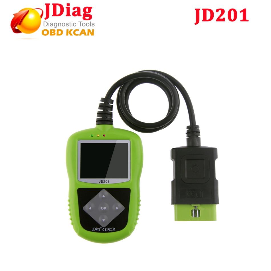 imágenes para 2017 Original JDiag JD201 Lector de Código De OBDII/EOBD/CAN JD-201 Actualización En Línea igual que Autel Explorador Automotor AL319 JD201