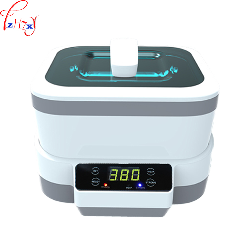 Máquina de Limpeza Pequeno tipo Rachado Relógio de Jóias Ultrassônica Óculos Domésticos – 220 v Jp-1200 110
