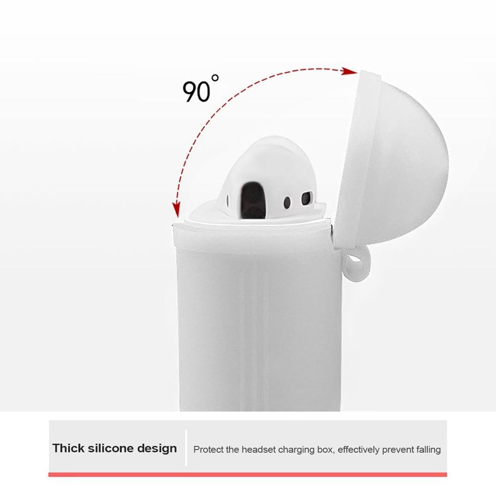 Airpods silikonska bluetooth brezžična slušalka za slušalke - Prenosni avdio in video - Fotografija 4