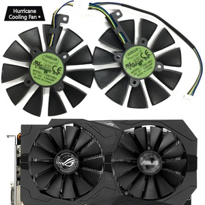 Image 1 - 新しい 87 ミリメートル T129215BU T129215SU グラフィックスカードファン asus ROG ストリックスデュアル gtx 1070 、 gtx 1060/RX 470 /570/580 RX570 RX580 RTX2060