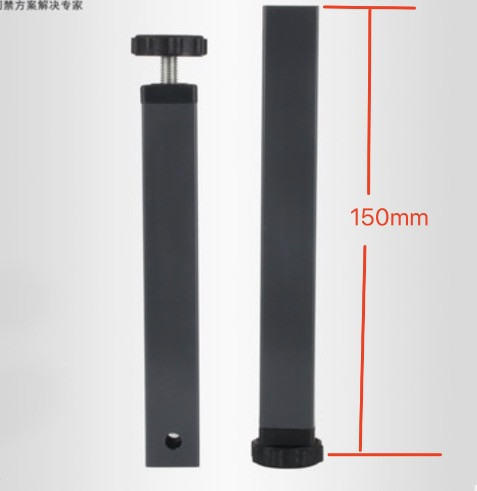 4PCS. H:150MM (For 30x30mm square pipe)Pinch supporting leg bed legs tatami bed foot 4pcs h 150mm for 30x30mm square pipe pinch supporting leg bed legs tatami bed foot