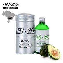 LEOZOE Pure Avocado Oil Certificate Of Origin Brazil Aromatherapy High Quality Avocado Essential Oil 100ML Oleo Essencial