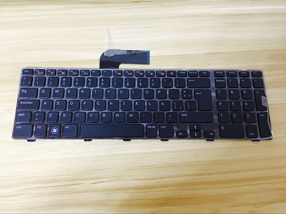 New notebook Laptop keyboard for Dell Inspiron 17R 5720 7720 17R XPS 17L 702X Vostro 3750 N7110 LA  layout xps13 us layout laptop keyboard for dell xps 13 9333 keyboard 9343 9350 l321x l322x notebook black keyboard win7
