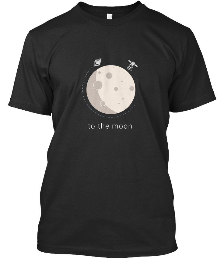 Ethereum To The Moon  Ether Fan - Premium Tee T-Shirt