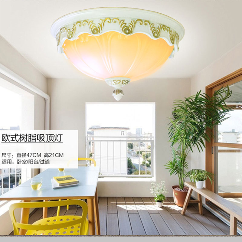 110V-220V E27 ceiling light lamp Modern Restaurant Bathroom Aisle Stairs Balcony European-style glass cover Ceiling lamp european retro nostalgia classical ceiling lamp living room restaurant aisle stairs balcony ceiling lamp free shipping