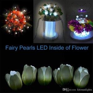 Image 5 - 180 pcs/lot coloré LED baies boule romantique mariage noël fête décorations fée perles ballons décor fournisseurs