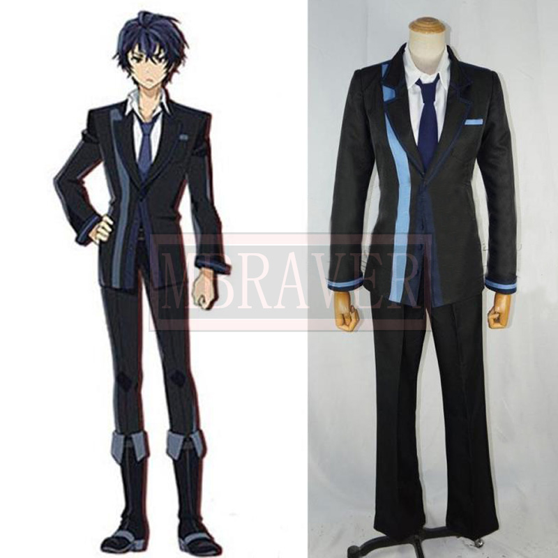 Anime Black Bullet Cosplay Satomi Rentaro Cosplay Costume Custom Made Any Size