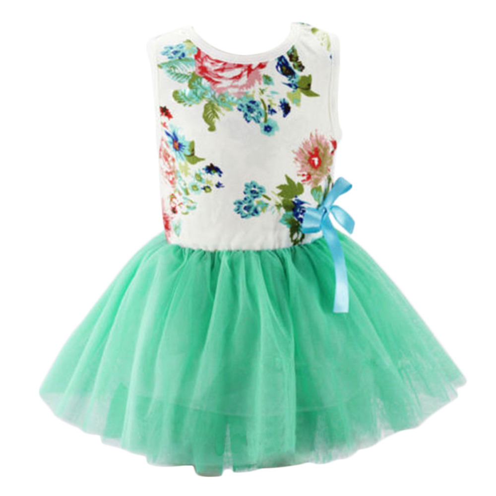 Baby dresses for girls infant cotton clothing sleeveless tutu dress ...