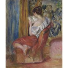 Reading Woman Painting
