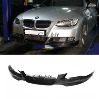 CF Kit E92 M TECH Lip Style For BMW 3 Series E92 Original Bumper Car Styling PU Material Front Lip Bumpers Spoiler Protector