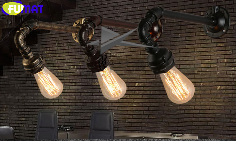 Water Pipe Wall Sconces 10