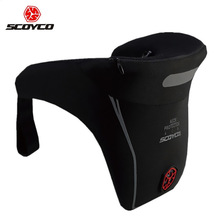 SCOYCO N04 Motocross Motorcycle PU Neck Brace Racing Protective Safety Gear Off Road Automobiles Neck Support