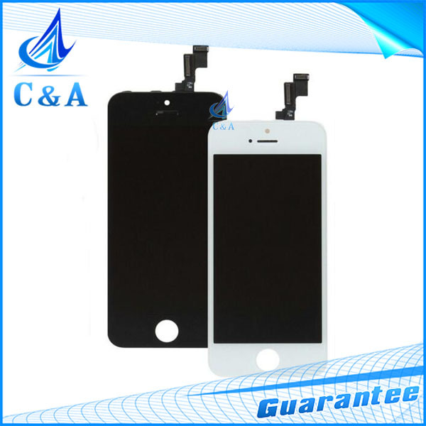 1 piece/lot black&white free shipping replacement part for iphone 6 6g lcd display with touch screen digitizer+frame assembly