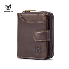 цены Genuine Cow Leather Mens Wallets Man Cowhide Cover Coin Purse Designer Brand Male Credit&ID Card Holder Multifunctional Walets