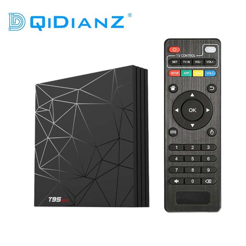 DQiDianZ Android 9 0 T95MAX 4GB 64GB Smart mini TV BOX Allwinner H6 Quad Core 6K HDR 2 4GHz Wifi Google Player Set Top Box