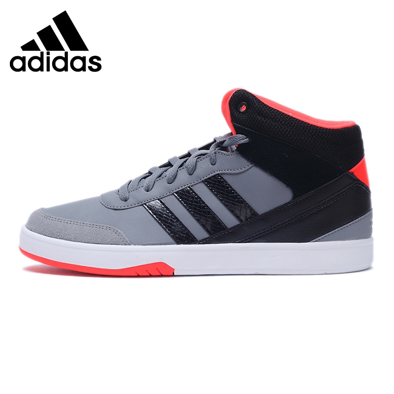 Prix pour Original Nouvelle Arrivée Adidas NEO Étiquette PARC Hommes de Haute top Planche À Roulettes Chaussures Sneakers