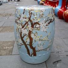 Awesome Jingdezhen Indoor Ceramic Antique Home Drum Porcelain Garden Stool Glazed  Hand Painted Round Chinese Antique Garden Stools