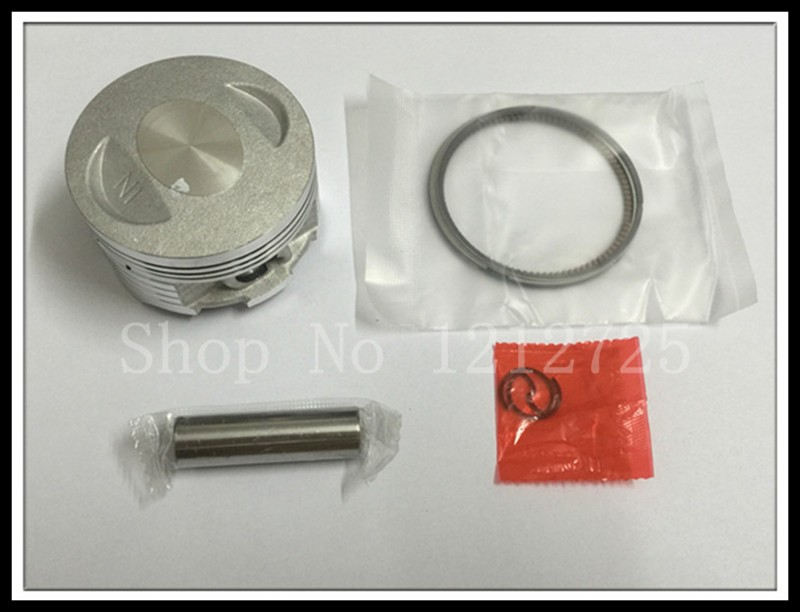 Motocicleta piston și inel CG150 (62mm) cu un piston pin 13mm Grosimea pistonului 0,8mm liber transport maritim