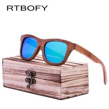 RTBOFY 2017 New Fashion Polarized 100% Handmade Bamboo Wood Sunglasses Women and Men cute Design Gafas DE sol cool Sunglass