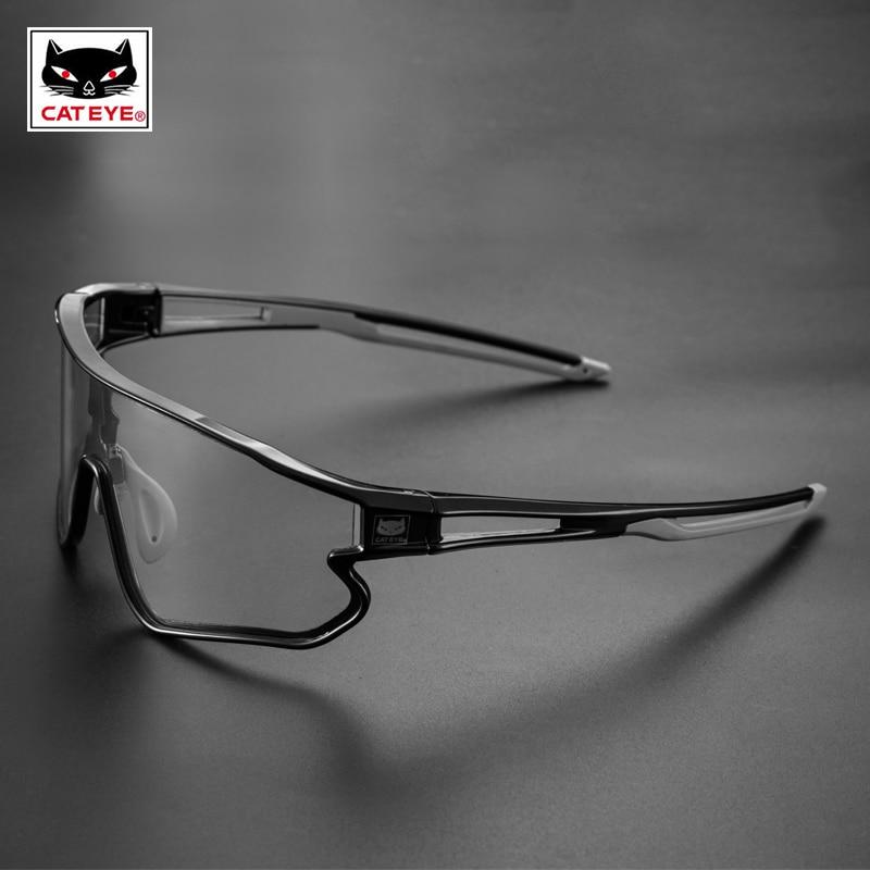 CATEYE Men Cycling Glasses Women Photochromic Sport Bicycle Polarized Sunglasses MTB Bike Hiking Eyewear Glasses 100% Speedcraft