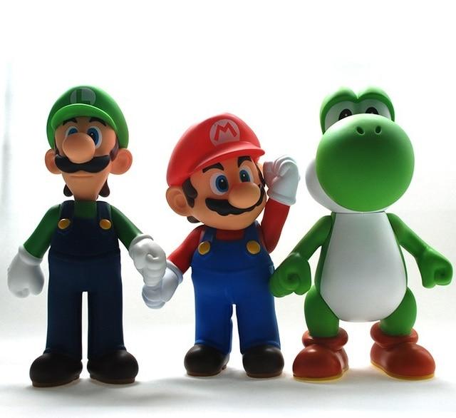 Regalo De Cumpleanos De Super Mario Brothers Bros Yoshi Luigi