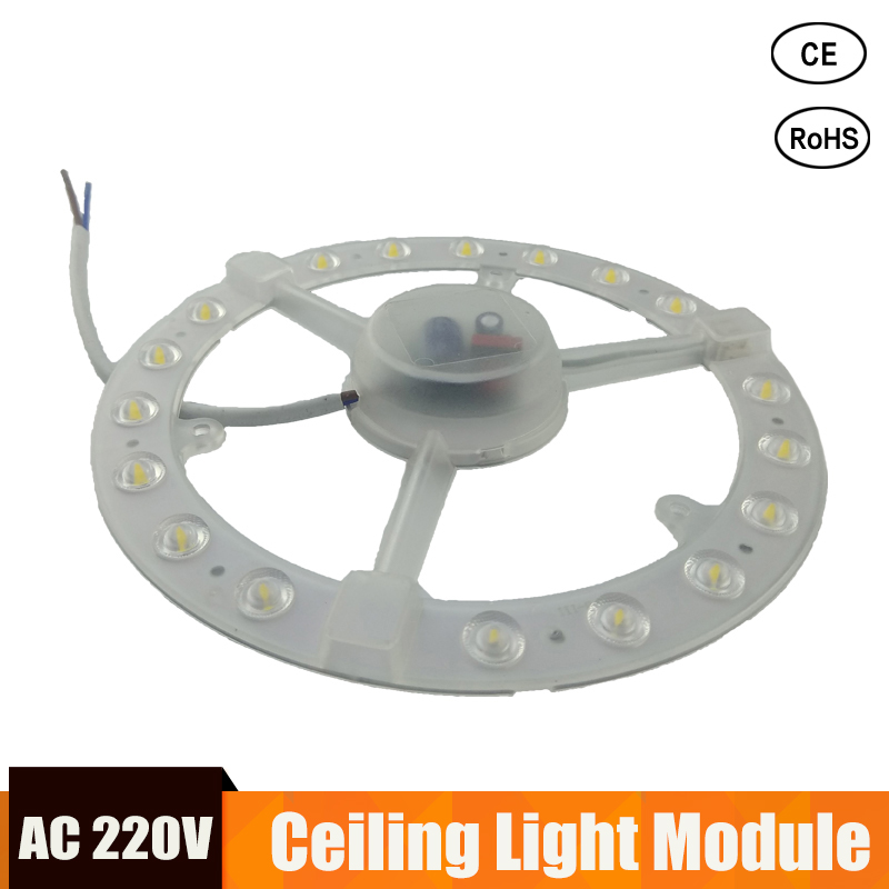 LED Module Light 220v 12W 18W 24W Round Replace Ceiling Lamp Lighting Source Convenient Installation For Home Indoor Lighting