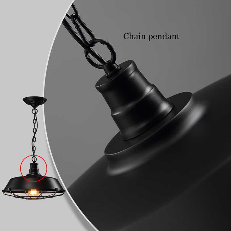 360 мм винтажный Лофт подвесной светильник складской подвесной светильник для столовой, бара, коридора, паба, учебы, кафе светильник подвесная люстра
