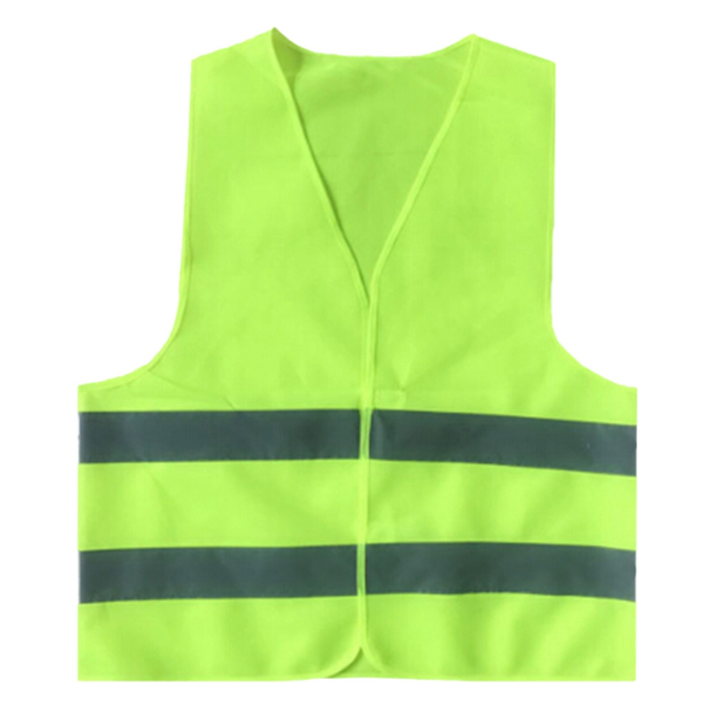 New Plus Size Reflective Vest Working Clothes Provides High Visibility Day Night For Running Cycling Warning Safety Vest safety reflective vest highlight reflector stripe for day night working