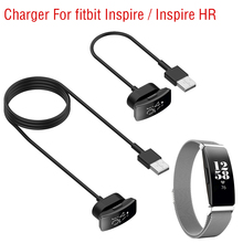 15cm/100cm USB Charging Dock Station Cable for Fitbit inspire/ inspire HR Smart Watch Replacement Universal Fast