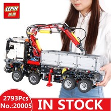 In-Stock LEPIN 20005 2793pcs NEW series 42023 Arocs Model Building Block Bricks Compatible with Boys Toy Educational Gift 05007