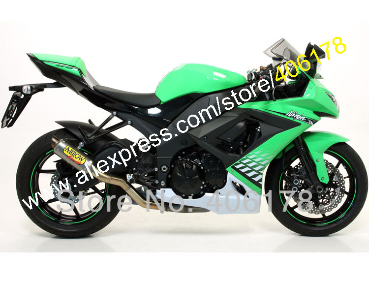 Hot Sales,Aftermarket Fairing For Kawasaki ZX10R 08 09 10 ZX-10R 2008 2009 2010 ZX 10R ABS Plastic Fairings (Injection molding)