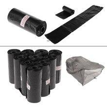 10 рулонов/набор мешок для мусора Разлагаемый для домашних животных какашка для мусора домашний кухонный мусор черный Mar28