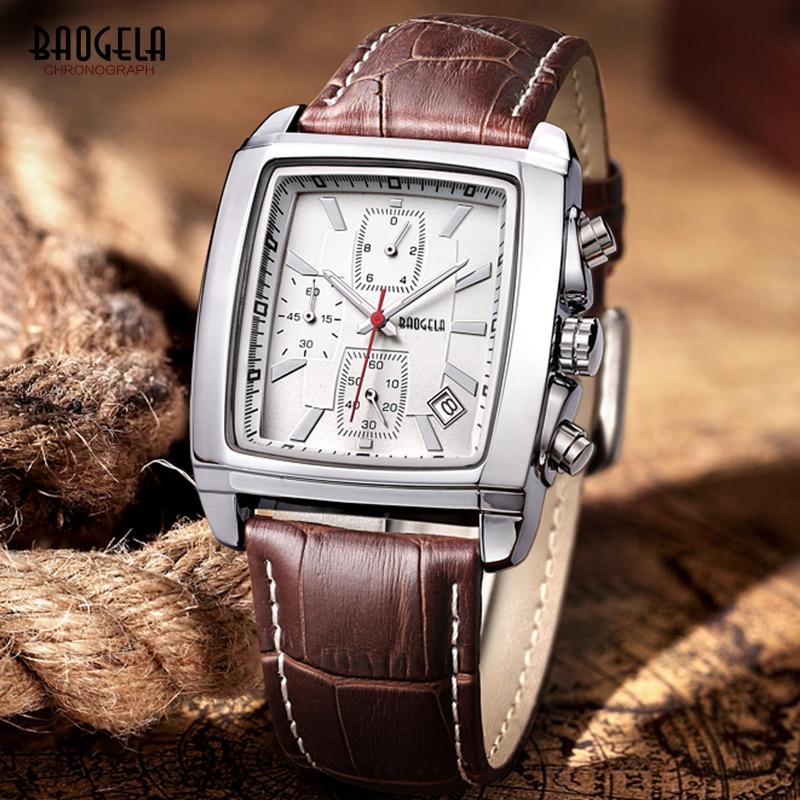 Baogela Mens Chronograph Φωτεινό αδιάβροχο - Ανδρικά ρολόγια