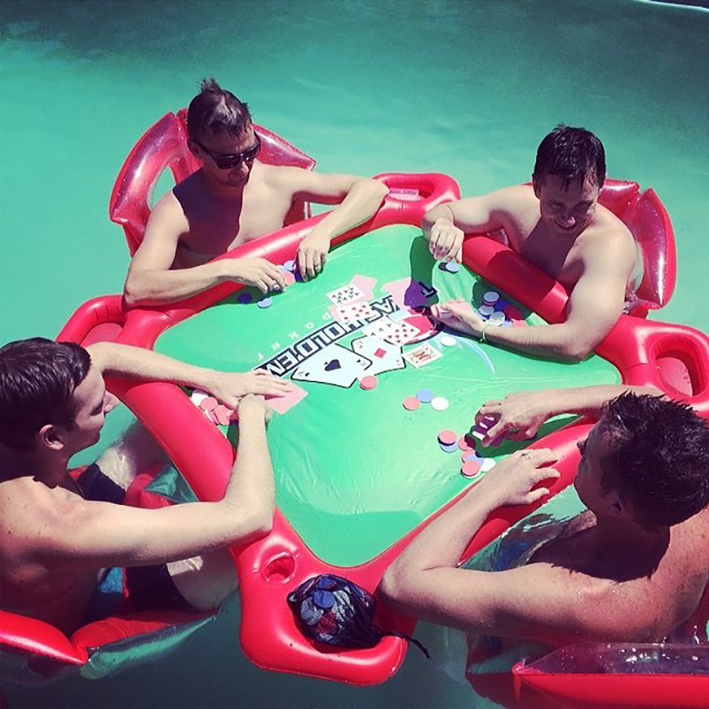 4-Person Island Inflatable Water Group Pool Float Lake/River Floating Lounge Raft Backrest Recliner Floating Sleeping Bed Chair abierto mexicano los cabos wednesday page 3