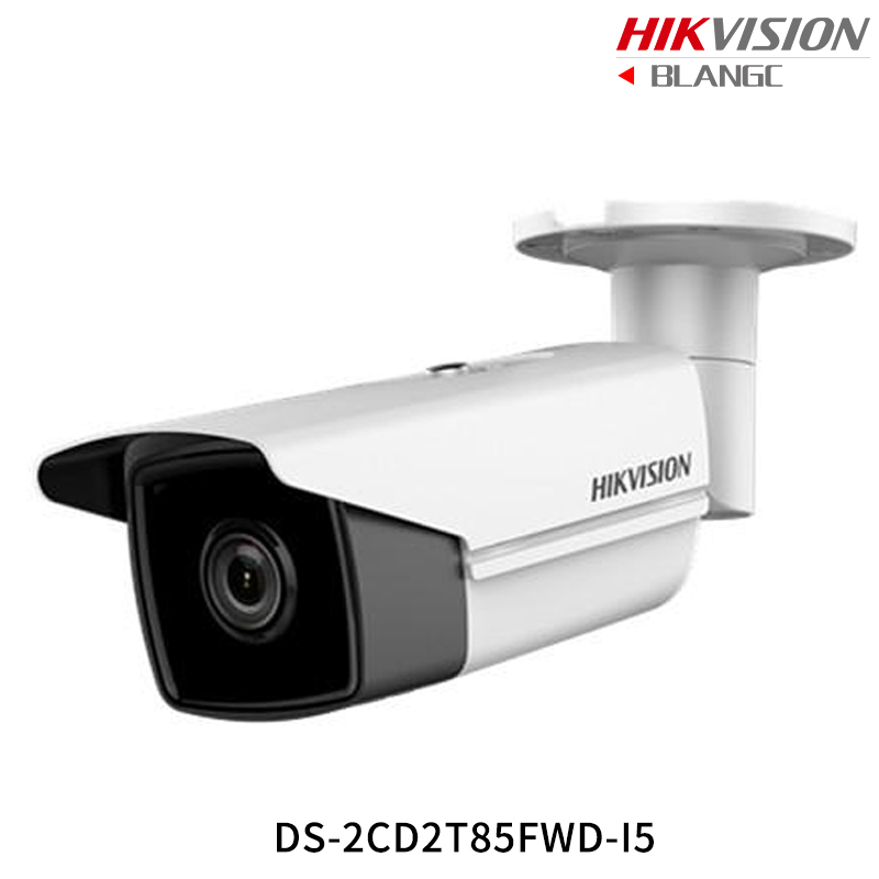 Hikvision Hik 4K English Security Camera DS-2CD2T85FWD-I5 DS-2CD2T85FWD-I8 8MP H.265+Bullet CCTV Camera WDR IP Camera POE IP67 original hikvision 1080p waterproof bullet ip camera ds 2cd1021 i camera 2 megapixel cmos cctv ip security camera poe outdoor