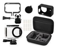 JOEAIS 5in1 Full Protect Kit Bag For Xiaomi Mijia 4K Mini Camera Waterproof Housing Case Side