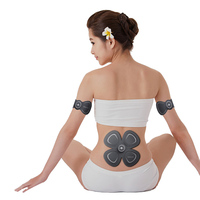 Mini Smart Charge Meridian Massager Body Pulse Massage Physiotherapy Instrument Health Therapy Relax Butterfly Muscle Stimulator