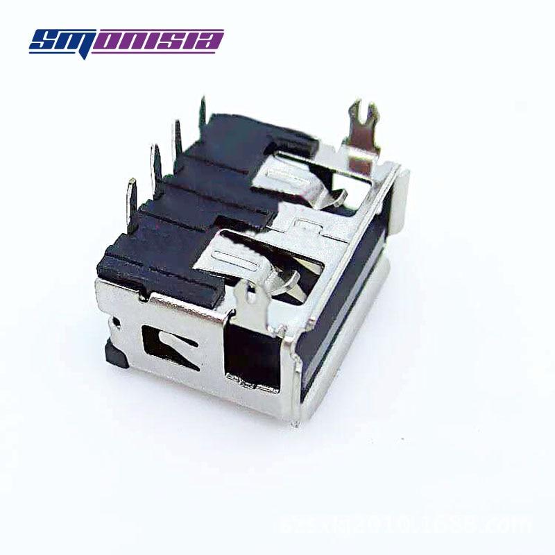 20pcs10. 0 разъем USB разъем короткие 90 градусов USB Женский Джек Мобильный Розетка