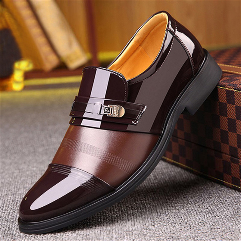 37-44 Mens Leather Shoes Men Shoes Men Oxfords Shoes Brand Fashion Designer Men Loafers 861