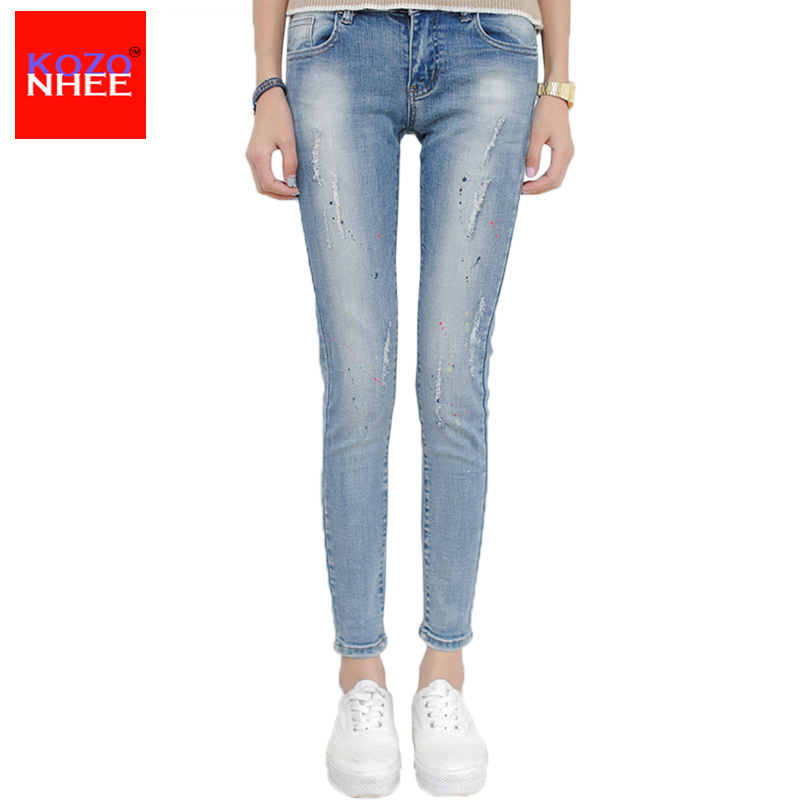 Compare Prices on Ripped Jean Capris- Online Shopping/Buy Low ...