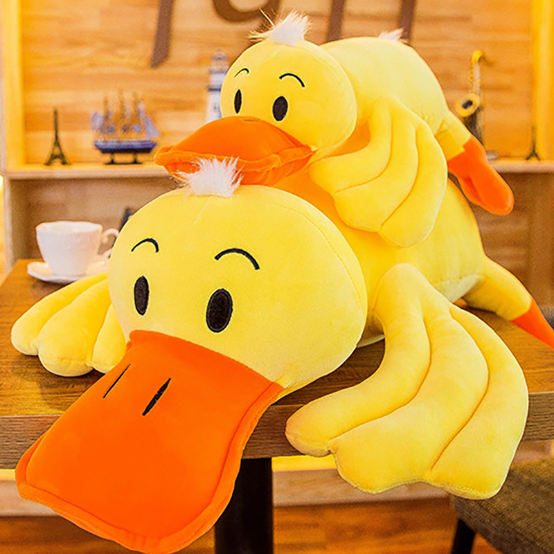 Glorious Big Yellow Duck Animal Dolls Stuffed & Plush Animals Dolls & Stuffed Toys 40/50cm Cartoon Plush Toys,children Soft Pp Cotton Kids As Birthday Christmas Gift Comfortable Feel