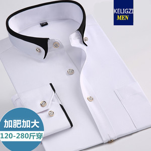 Image 2 - new arrival Spring commercial easy care shirt male oversize long sleeve fashion formal high quality plus size M 7XL8XL9XL