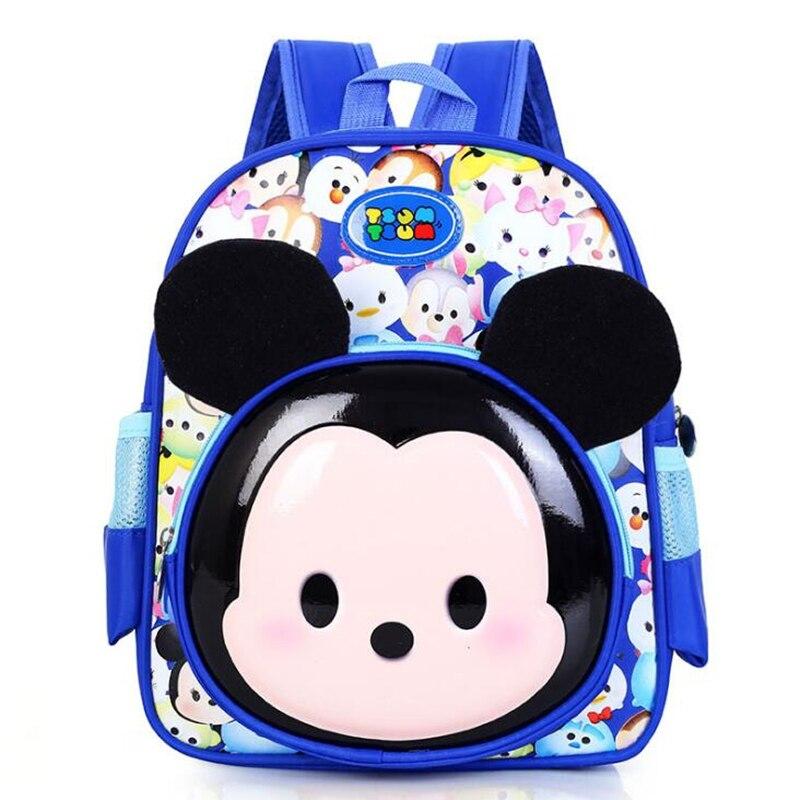 Горячая мультфильм Микки детские рюкзаки/дети детский сад рюкзак/ребенок школьные сумки/портфель для мальчика и девочки Mochila infantil