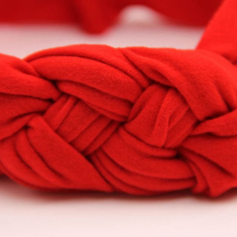 Us 123 Naturalwell Baby Girls Hair Accessories Toddler Girls Kids Soft Cross Turban Hairband Twisted Wide Elastic Knot Headband Hb425 In Hair