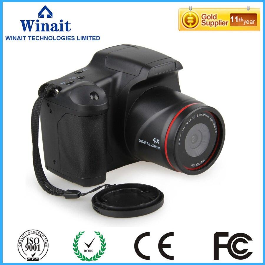 ФОТО 2016 new DC05 digital camera 12 million pixel camera Professional SLR camera 4X digital zoom LED headlamps hot  sale cameras