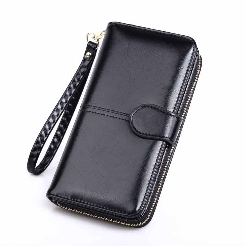 Long Women Wallet PU Leather Fashion Purses Women Clutch Wallet Cell Phone Purse Hot Sale Lady Card Holder Female Money Bag