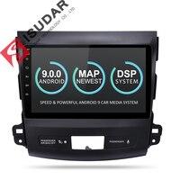 Isudar Android 9 2 Din Car Multimedia Player For MITSUBISHI/OUTLANDER 2007 2012 Auto Radio GPS Navigation Video Audio DSP DVR FM