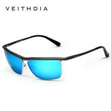 2017 VEITHDIA Aluminum Polarized Lens Sunglasses Men Brand Designer Vintage Male Classic Sun Glasses gafas oculos de sol 6381