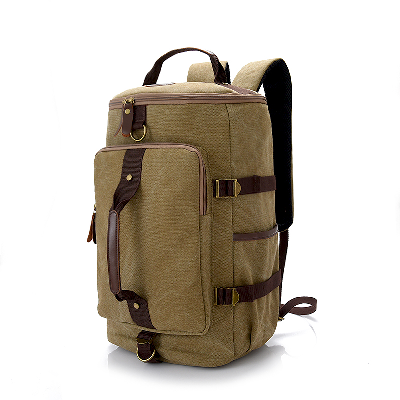 Brand High Capacity Travel Bag New Cylinder Package Multifunction Moutain Bags Male Fashion Backpack Bolsas Travelling bag Q-127