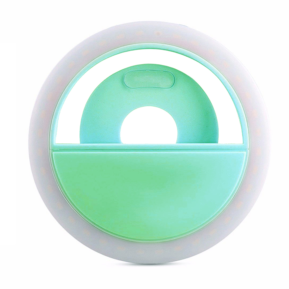 Mobile phone Selfie Ring Flash lens beauty Fill Light Lamp Portable Clip for Photo Camera For Cell Phone Smartphone